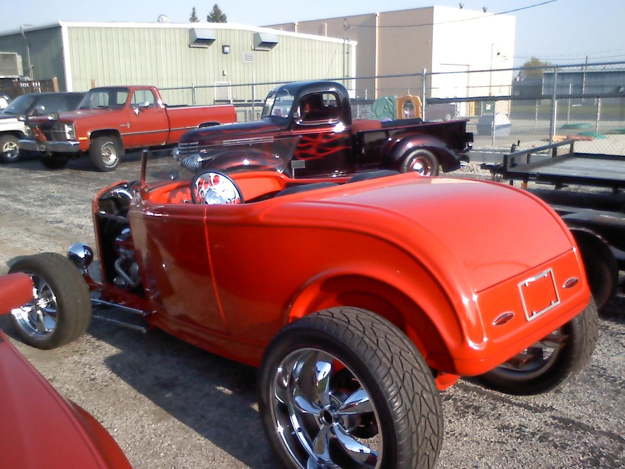 Online Public Car Auction >> 1932 Ford With Flames | Midnight Hot Rods